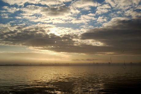 Lake Decade Sky
