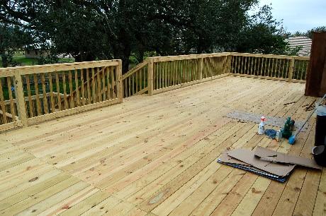 Deck complete