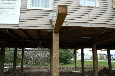 Old and new joists