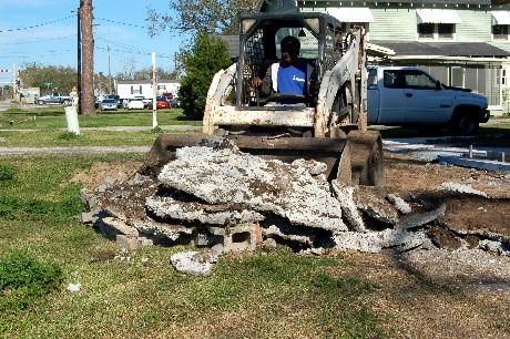 Concrete Cleanup