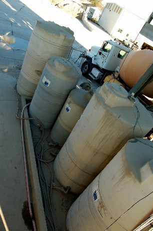 Chemical barrells