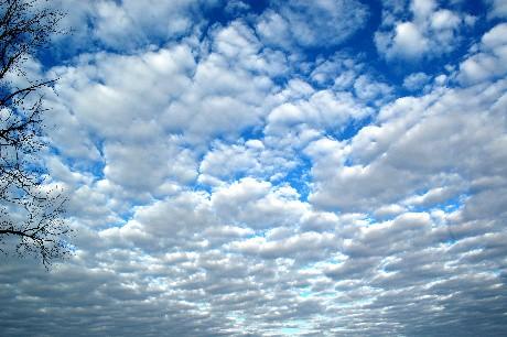 Porch rail sky