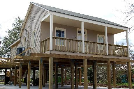 Front porch rails