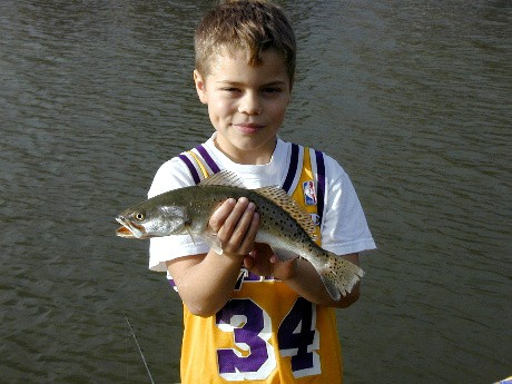 First speckled trout