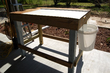 Fish Cleaning Table