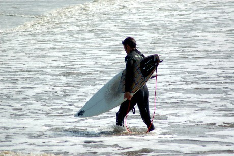 Unknown surfer