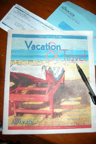 Advocate Travel Section