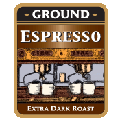 Espresso Ground Ex. Dark