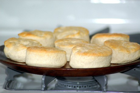 Biscuits served