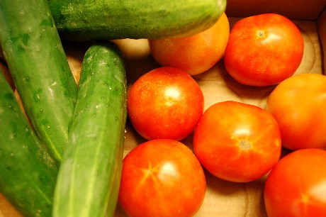 dirty-rice-8-tomato-cucumber