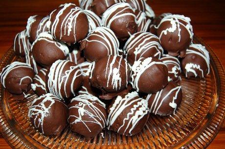 ChocolatePeanutButter Cake Balls BAYOU WOMAN