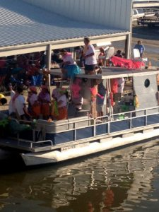 A real party barge!