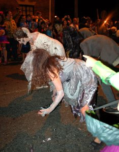 Zombies getting down!