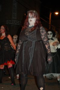 Tallest female Zombie