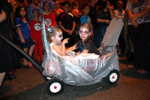 and her baby Zombies