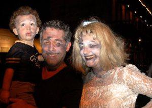 Happy little Zombie Family