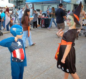 Super Hero and Witch