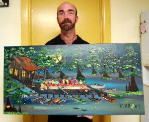 Cajun Last Supper by Hank Holland