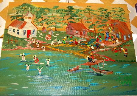 Hank Holland's Circle of Life painting