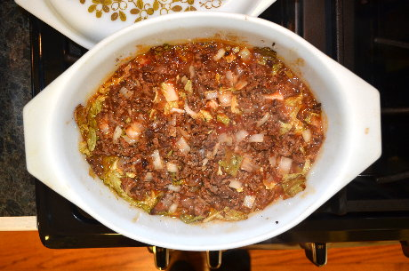 Cabbage Casserole Ready