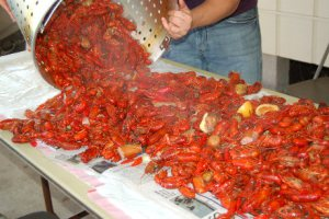 Our boiled crawfish