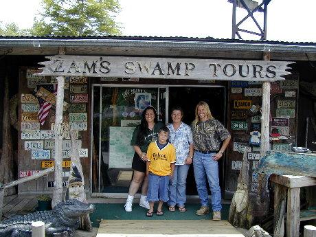 Zam's Swamp Tours - 2006