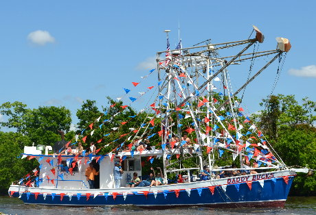 Big Double Rigger - Boat Blessing 2013