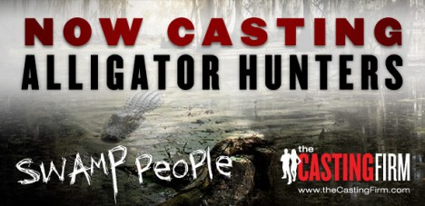 Swamp People Casting Call