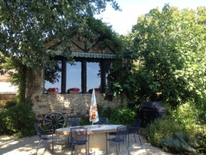 Kathy's farmhouse in SW France