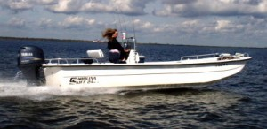 Let Southern Outdoors and Marine put you in a Carolina Skiff today!