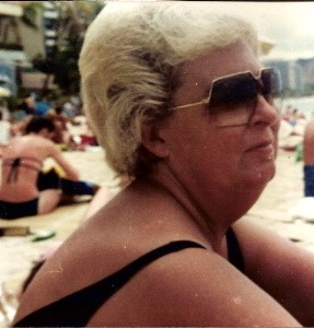 Donna in Hawaii