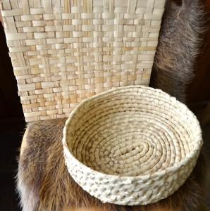 Houma Indian Palmetto Weaving
