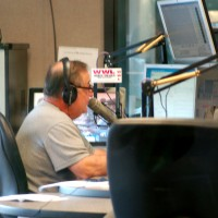 Don Dubuc in WWL studio