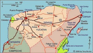 map-yucatan-state