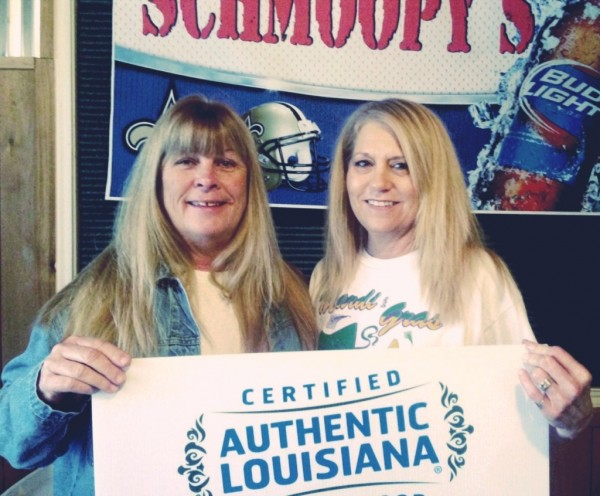 Schmoopy's Restaurant, Dulac, LA (BW & Connie, Owner/Chef)