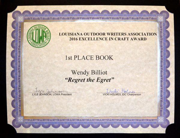 1st-Book-Regret the Egret